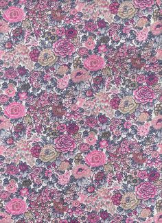 Liberty of London tana lawn fabric Elysian 6 x 23 by MissElany, $4.25