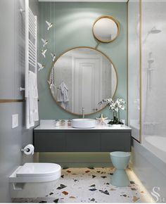 32 Brilliant Over the Toilet Storage Ideas that Make the Most of Your Space - The Trending House Bathroom Design Luxury, Modern Bathroom Design, Childrens Bathroom, Small Bathroom, Master Bathrooms, Bad Inspiration, Bathroom Inspiration, Home Room Design, Home Interior Design