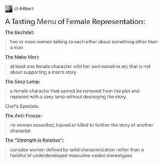 Female representation