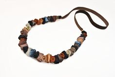 Multicolored Roll Leather Necklace by Doridea Leather Necklace, Fall Winter, Jewellery, Bracelets, Men, Accessories, Leather Collar, Jewels, Jewelry Shop