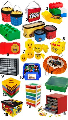 There are many Lego storage ideas to choose from. Do you organize your lego bricks by color or just combine them all together? Swoop Bags are designed to make lego cleanup simple, fast and fun by containing the lego mess in one area. Toy Storage Bags, Lego Storage, Storage Ideas, Storage Solutions, Lego Duplo, Mesa Lego, Table Lego, Lego Hacks, Lego Bag