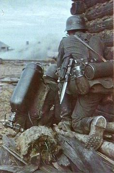 German flamethrower team, eastern front   Flickr - Photo Sharing!