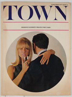 PATTIE BOYD Len Deighton DAVID HAMILTON Bailey TERENCE DONOVAN Town magazine 60s