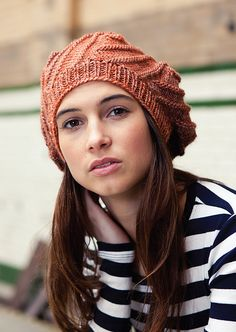 Ravelry: Viñoly Beret pattern by Anni Howard