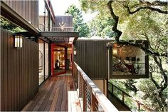 Tree House,  Location Oakland Hills, California  Year Built 1957