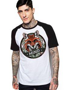 Camiseta King33 Raglan Branco - Marca KING33 4193bf815ae