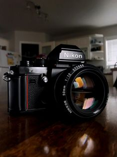 Vintage Camera Chanson Camera — sandy-phimester: Nikon with . Nikon Lenses, Nikon F3, Nikon Digital Camera, Camera Nikon, Camera Gear, Film Camera, Old Cameras, Vintage Cameras, Photo Lens
