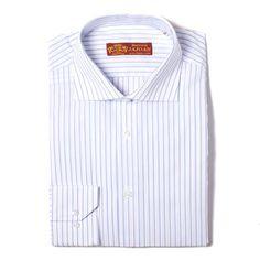 Camisa banquero blanca