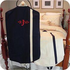 Heavy+Canvas+Garment+Bag+-+Navy