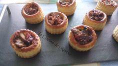 La Cocina de Mertxe: Volovanes de jamón y champiñones gratinados