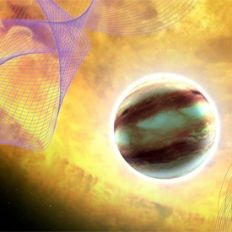 Exoplanets: The Search for New Worlds. Image included in the talk announcement of the World Science Festival (credit: unknown)