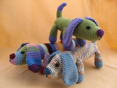 Amigurumi Wiener Dog Pattern : Fetch the dog crochet amigurumi pattern via etsy