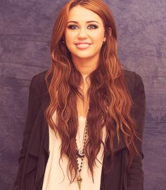 Miley Cyrus hair porn.
