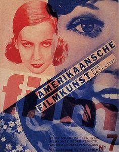 """""""Film"""" Magazine No.7, Cover Designed by Piet Zwart, 1932"""
