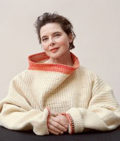 """lesthetiquedelinventaire: """"Isabella Rossellini by Jody Rogac for Marie Claire """""""