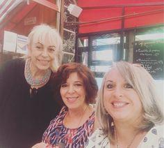 Rencontre de femmes majuscules avec @modange13 et Florel #femmesmajuscules #rencontre #paris #travel #quinqua #50ans #magazine http://themouse.org