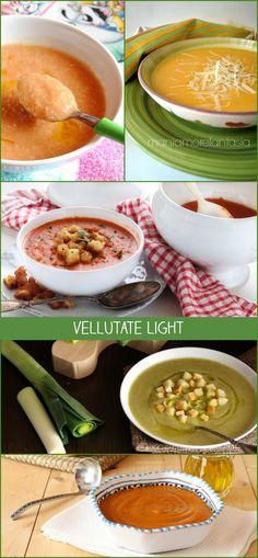 Le #vellutate #light sono #ricette facili per la #dieta, buone, leggere e veloci da preparare! Ecco 5 #piatti Healthy Mind, Healthy Habits, Healthy Choices, Healthy Snacks, Healthy Eating, Detox Recipes, Vegan Recipes, Food Porn, Food Hacks