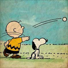 Atrapala Snoopy.
