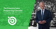 You won't close profitable #sales by wasting time on unqualified #prospects. Learn how to maximize your time and spend more time with better prospects with this free Essentials Prospecting Checklist.