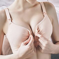 Preventing Sagging Nursing Front Button Wireless Adjustable Gather Body-shaping Bras On Sale - NewChic Mobile