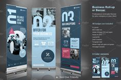 Business Roll-Up Banner 2 by TypoEdition on @creativemarket
