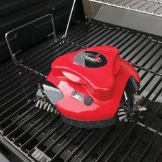 The Grill Cleaning Robot - Hammacher Schlemmer