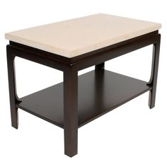 Paul Frankl Two-Tiered Side Table   1stdibs.com