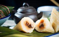 Chinese  Zongzi or Ricec dumpling