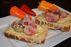Zapečené sendviče s vejcem a žampiony - Vaříme doma