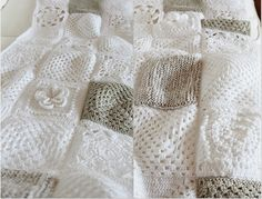 Beautiful for a baby...maybe add just a few squares of one light color.