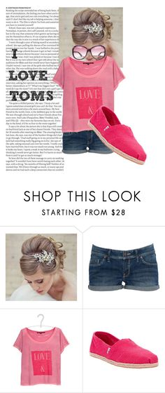 """""""Toms!"""" by chloe-sweet ❤ liked on Polyvore featuring ASOS, TIARA, MANGO, TOM TAILOR, TOMS and Tom Ford"""
