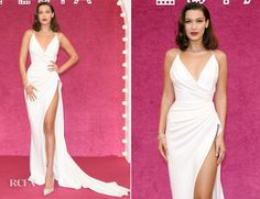 Bella Hadid In Alexandre Vauthier Couture & Nicolas Jebran - Bvlgari Festa Party - Red Carpet Fashion Awards