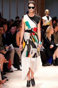 Céline Spring 2014 Ready-to-Wear Collection - Vogue Celine, Spring 2014, Summer 2014, Spring Summer, Vogue Paris, Runway Fashion, Fashion Show, Fashion Painting, Mannequins