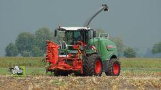 Fendt Katana 65 volop in actie in de maïs part 2 full hd dutch video Tre...