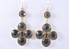 Lifesaver Charcoal Earrings by Celebrate Jewelry