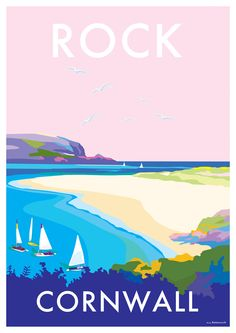 vintage seaside travel posters available at… British Seaside, Tourism Poster, Railway Posters, Travel Cards, Travel Brochure, Advertising Poster, Vintage Travel Posters, Illustrations, Travel Inspiration