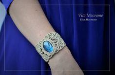 Micromacrame bracelet  Плетеный браслет на руку в технике микромакраме #макраме #украшенияручнойработы