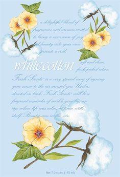 Scented Sachet - White Cotton