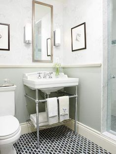 Does your powder room need a perk-up? See how these homeowners gave their small bathroom a major face-lift for under $800.