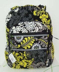 Vera Bradley Campus Backpack Bag Baroque   eBay