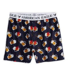 Men's Underwear: Boxers, Briefs & Trunks American Eagle Underwear, American Eagle Boxers, Guys Underwear, Briefs Underwear, Men's Boxer Briefs, Men's Boxers, Funny Boxer, Mens Outfitters, Lounge Wear