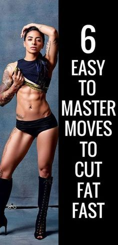 6 full body exercises to cut fat fast.
