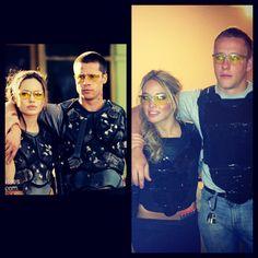 Halloween costume. Mr. & Mrs. Smith! #Halloween #Couples #Costume