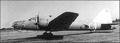 "First flight of the Mitsubishi Ki-67 Hiryu ""Peggy"" bomber 27/12 1942."
