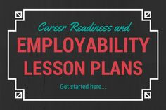 A Guide to Career Readiness and Employability Skills Lesson Plans Education education quest jobs High School Counseling, Career Counseling, Education College, Business Education Classroom, School Counselor, Education Jobs, Elementary Counseling, Primary Education, Childhood Education