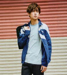 FB 小瀧望 Bomber Jacket, Denim, Jackets, Fashion, Down Jackets, Moda, Fashion Styles, Bomber Jackets, Jacket