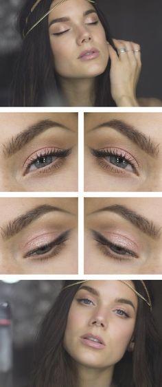 Make-up für graue Augen BILDEN, Schminke für graue Augen 2017 Elf Makeup, Skin Makeup, Makeup Tips, Beauty Makeup, Makeup Ideas, Revlon Makeup, Makeup Eyebrows, Makeup Box, Makeup Case