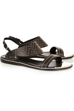 Nicholas Kirkwood Studded leather sandals