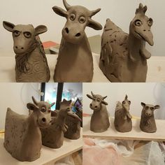 This guys are comming with me to a raku class. Hope they will dry til then… The post This guys are comming with me to a raku class. Hope they will dry til then… appeared first on Trendy. Pottery Animals, Ceramic Animals, Clay Animals, Ceramic Pottery, Pottery Art, Ceramic Art, Clay Projects, Clay Crafts, Kids Clay