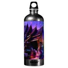 Through Time and Space Water Bottle